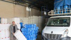 Muş Plastik ilk ihracatını Suriye'ye yaptı