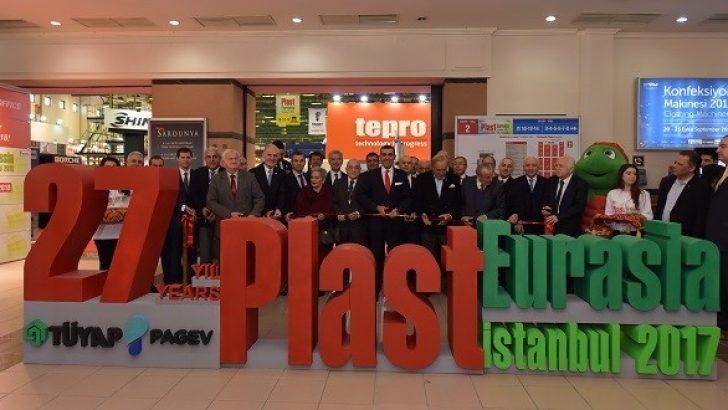 Plastik endüstrisi 27. kez bir araya geldi