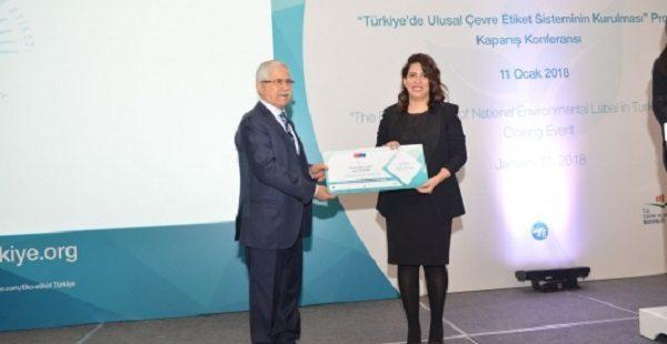 Türkiye'nin Eko-Etiket'i belli oldu, 8 firmaya 15 etiket verildi