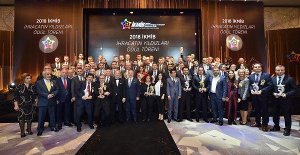 2018 yılının ihracat yıldızları ödüllendirildi