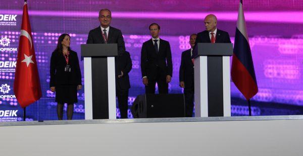 Türkiye'nin Makinecileri bugün Putin'le buluşuyor