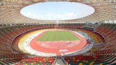 Japoma Stadyum'un çatısında Polinet imzası