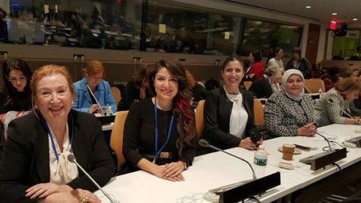 Gülçin Güloğlu Birleşmiş Milletlerde
