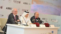 Airbus'ın ilk plastik uçağı Katara