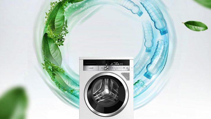 Atık PET şişeden çamaşır makinesi ödül getirdi