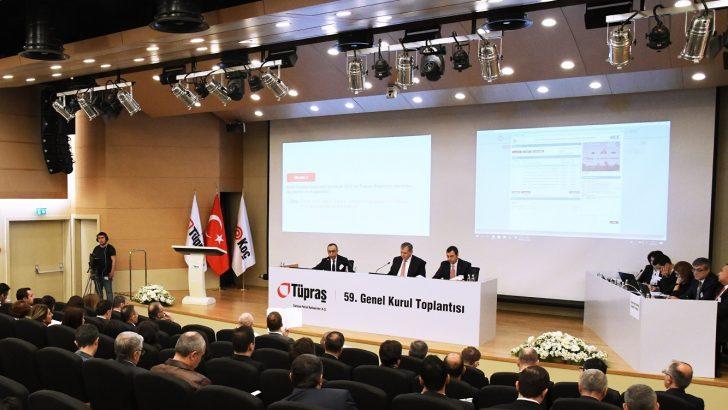 """Koç: """"Tüpraş'ın 2018 yılı cirosu 88,6 milyar TL'ye ulaştı"""""""