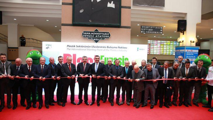 Avrasya'nın en büyük plastik fuarı 29. kez kapılarını açtı