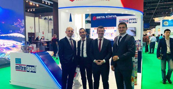 The BIG 5 Show Dubai'de Beta Kimya rüzgarı
