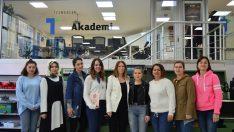 Tezmaksan'dan kadınlara ücretsiz CNC eğitimi