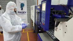 PAGEV okulları tek kullanımlık ürün üretimine başladı