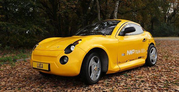 Plastik atıklardan elektrikli otomobil üretildi