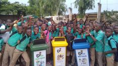 Afrika halkı, WFO öncülüğünde geri dönüşümü öğreniyor