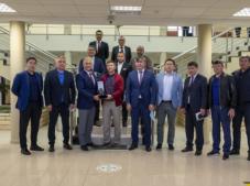 GEBKİM OSB, Kazak Heyetini Ağırladı