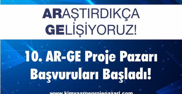 Kimya 10. Ar-Ge Proje Pazarı  15 Ekim'e kadar başvuruları bekliyor