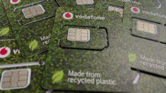 Vodafone'dan Eko-SIM kartlarla 320 ton plastik tasarrufu